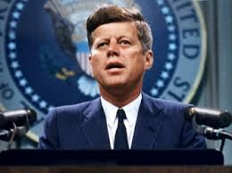 35th President of USA John F. Kennedy